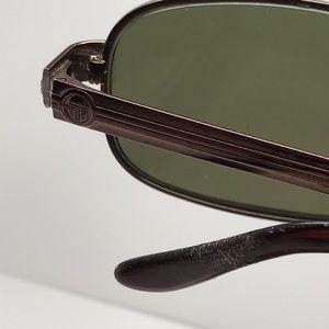 7b7e8d4d66 Sergio Tacchini Accessories - Vintage Sergio Tacchini Brown Rectangular  Glasses